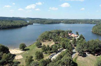 Lac de st pardoux chabannes